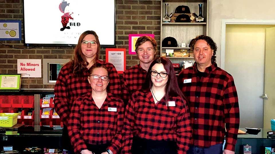 The team at the pot shack saskatoon